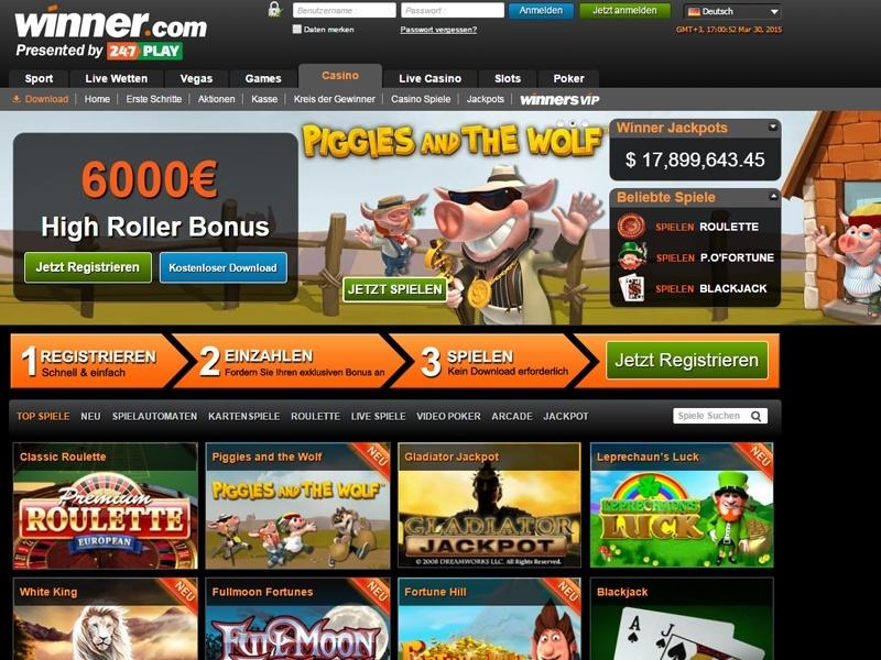 Winner Online Casino Mobile