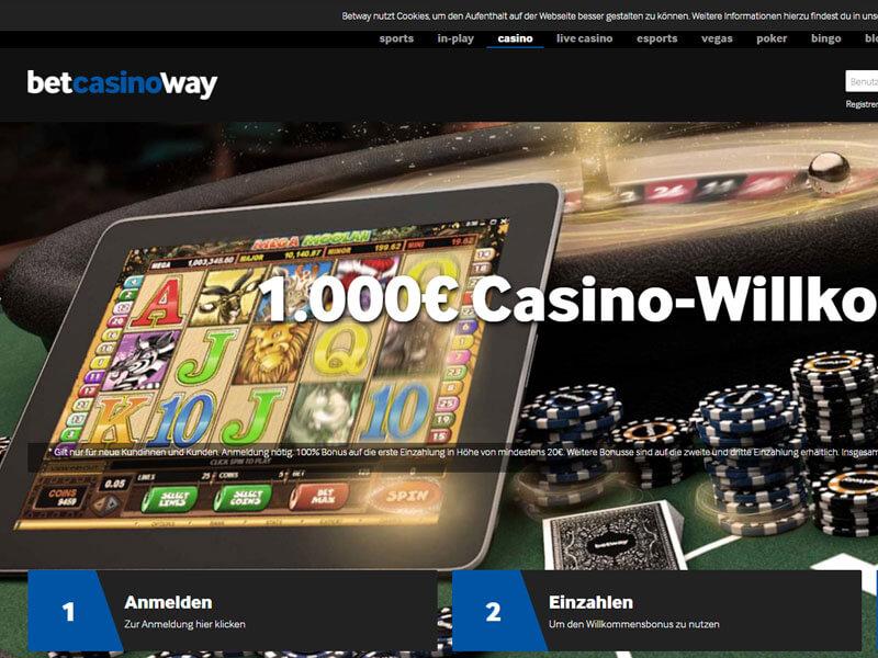 Betway casino mac